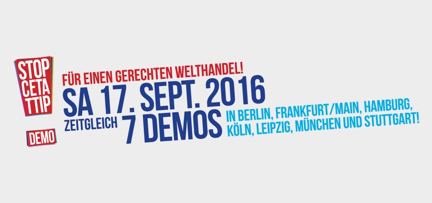 Bus nach Stuttgart zur Stop-CETA/TTIP-Demonstration