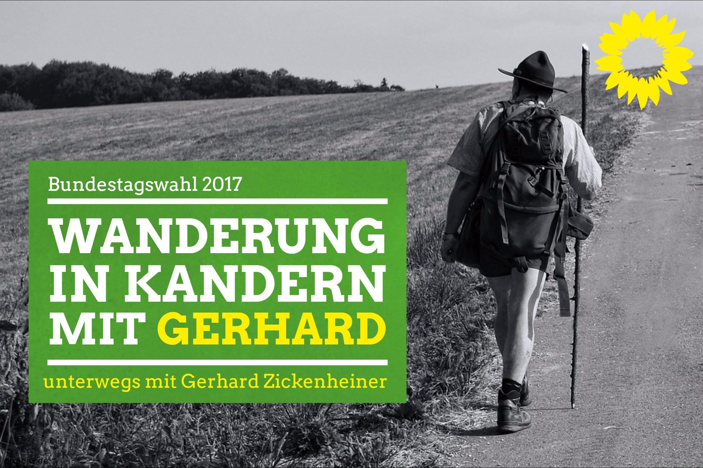 Wanderung in Kandern mit Gerhard Zickenheiner