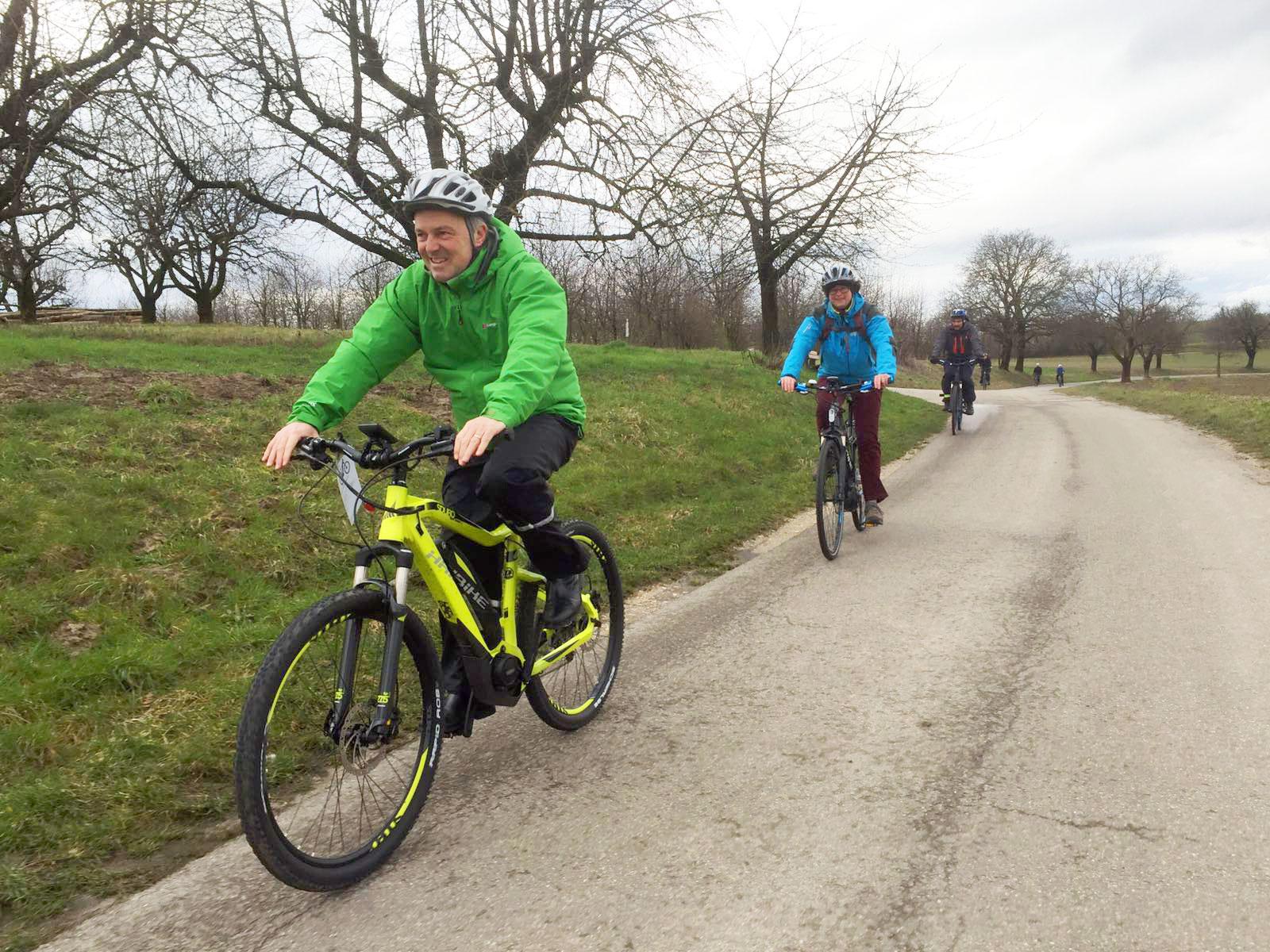 Nachhaltigkeitstage – E-Biketour nach Binzen und am Tüllinger Berg