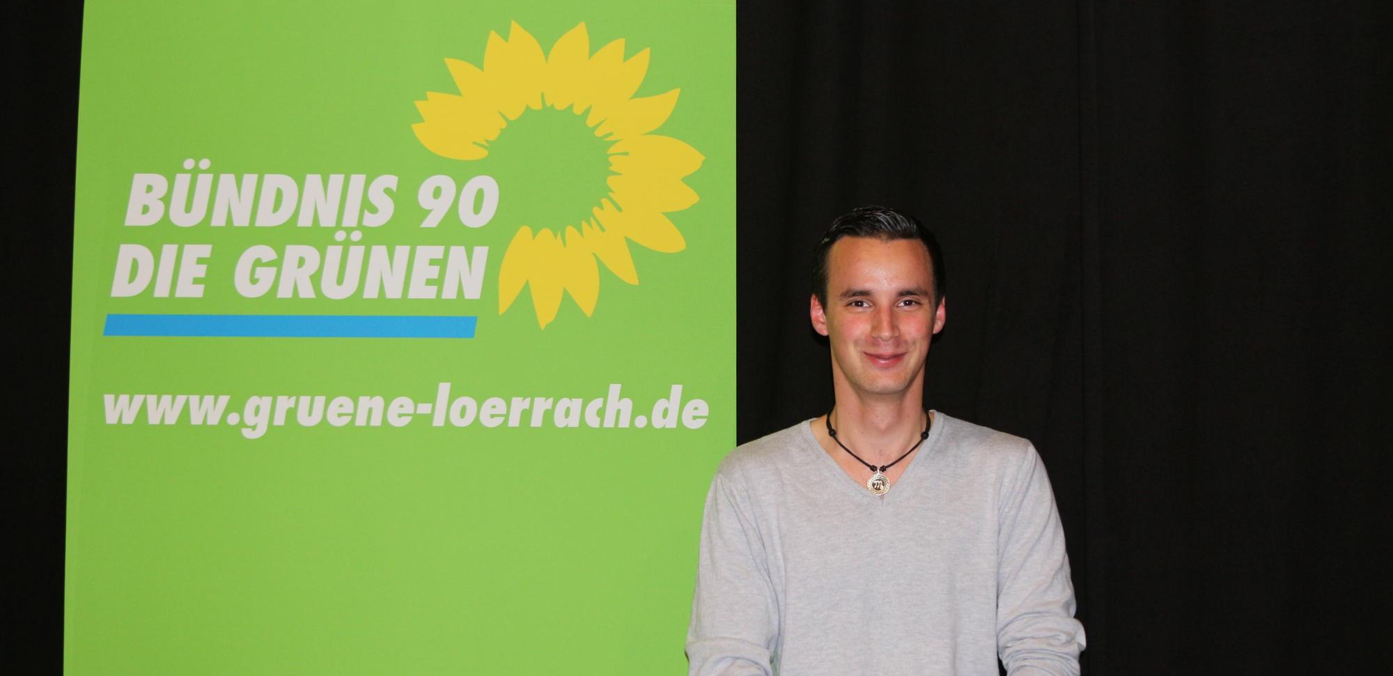 Josua Kalt in den Kreisvorstand gewählt.