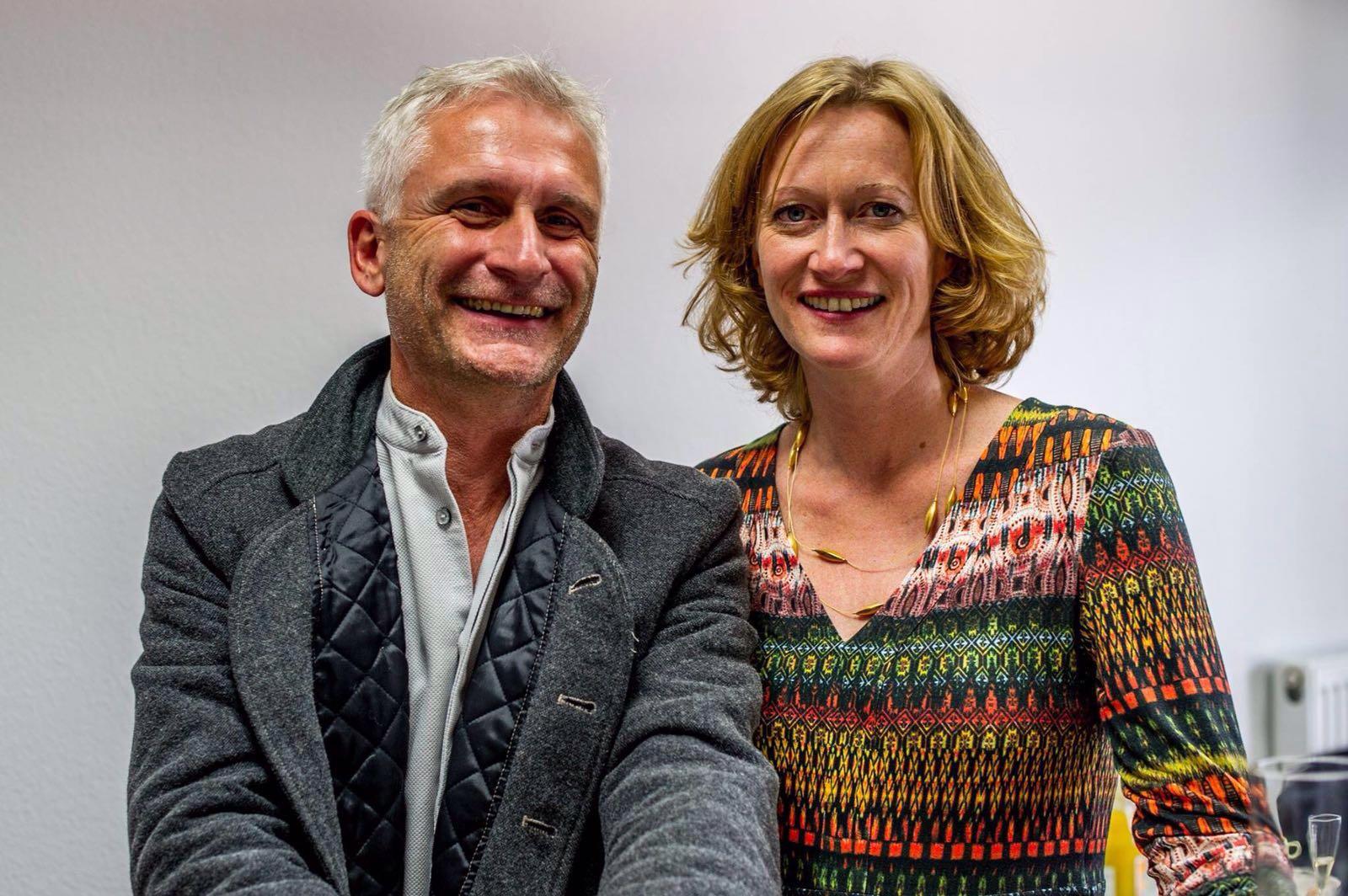Kaffee-Gespräch mit Kerstin Andreae MdB und Gerhard Zickenheiner