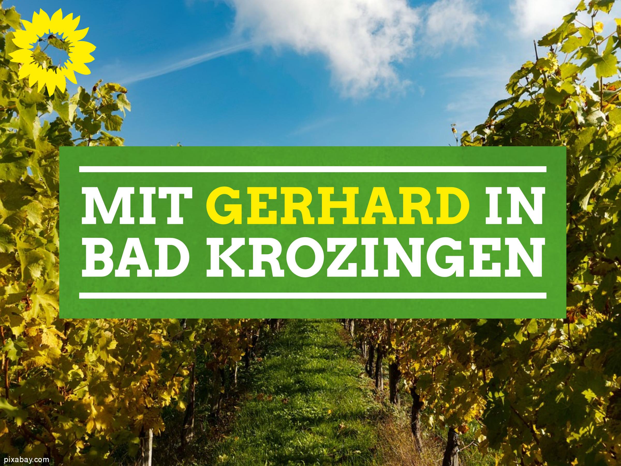 Spaziergang durch Bad Krozingen mit Gerhard Zickenheiner