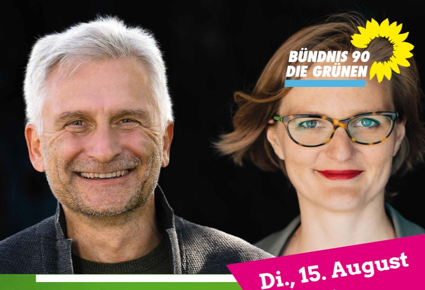 Franziska Brantner MdB zu Besuch in Lörrach und Weil am Rhein