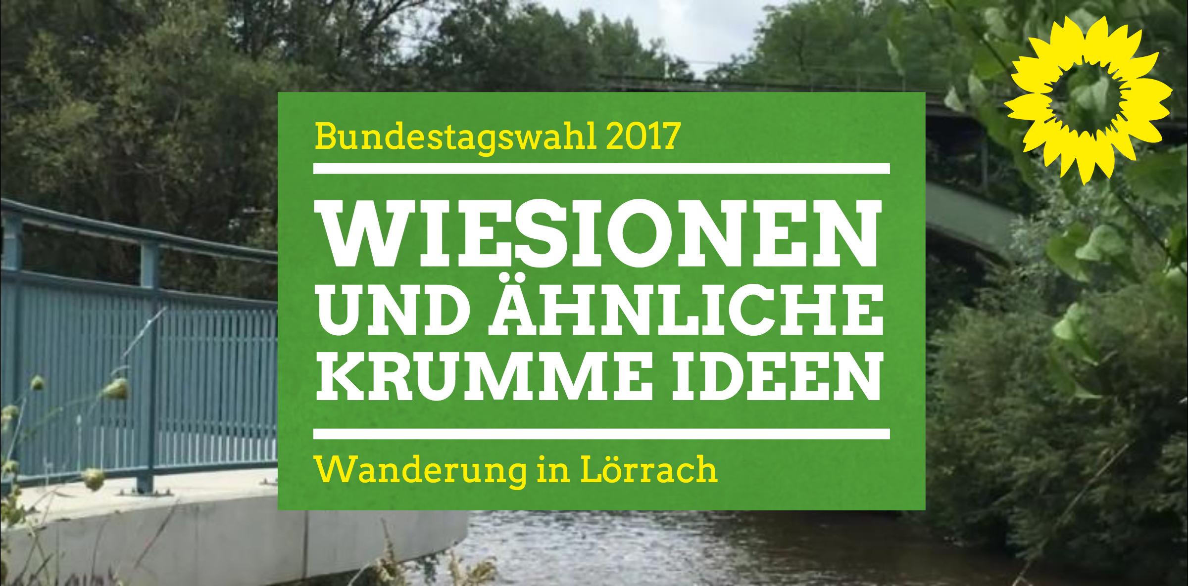 Wiesionen und ähnliche krumme Ideen – Wanderung in Lörrach