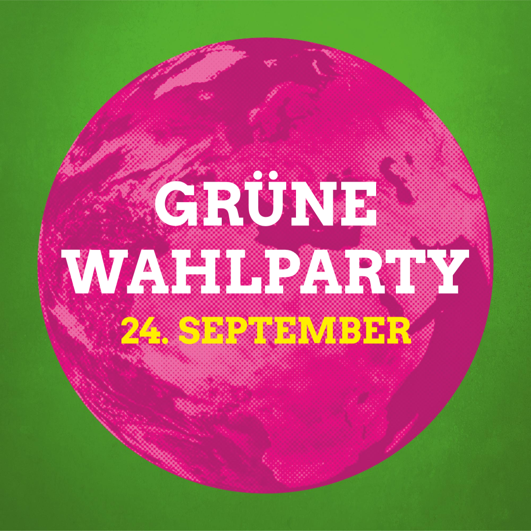 Grüne Wahlparty