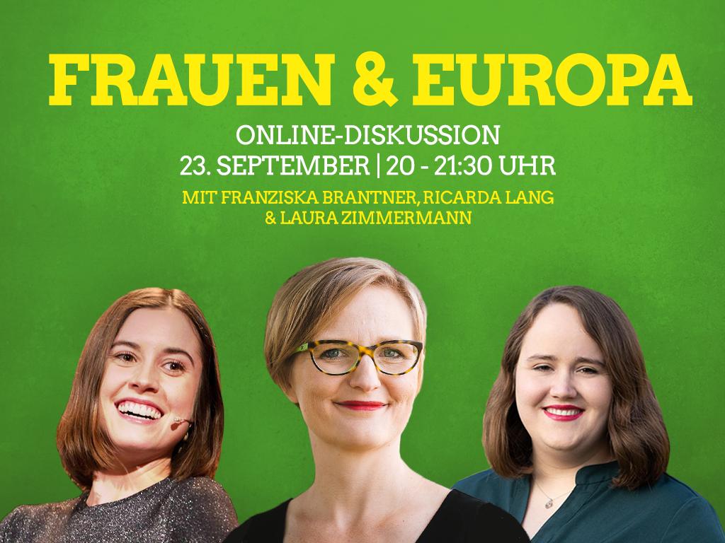 """""""Frauen & Europa"""" – eine Online-Diskussion"""