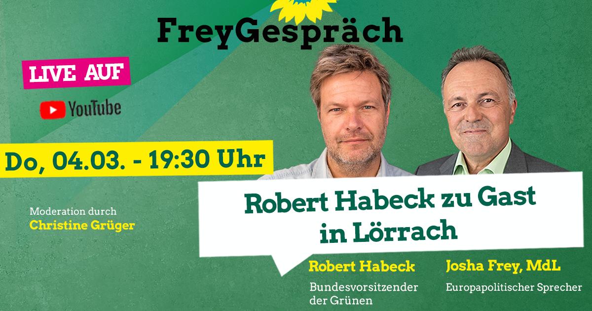Robert Habeck im FreyGespräch
